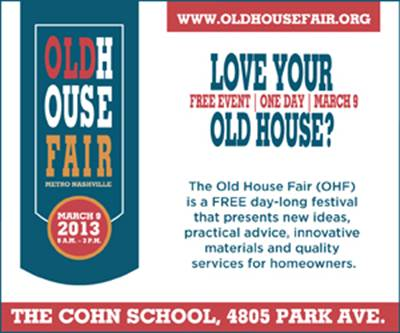 Old House Fair Flyer