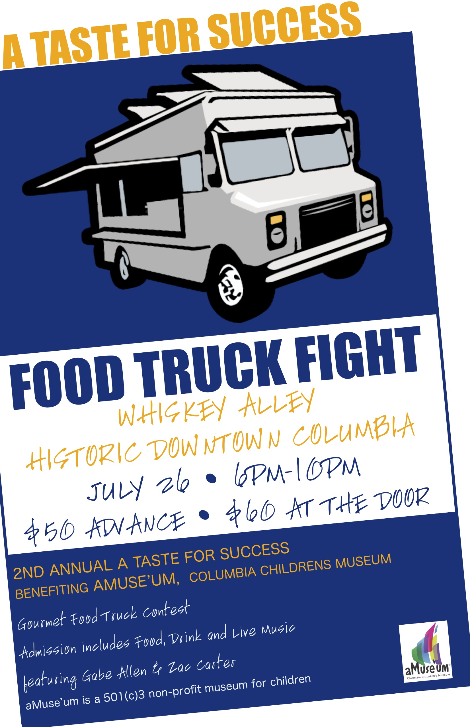 Columbia Food Truck fight 2013